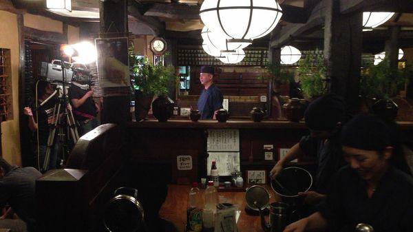 かつ吉渋谷店が「チョウボウですよ!」に登場します。